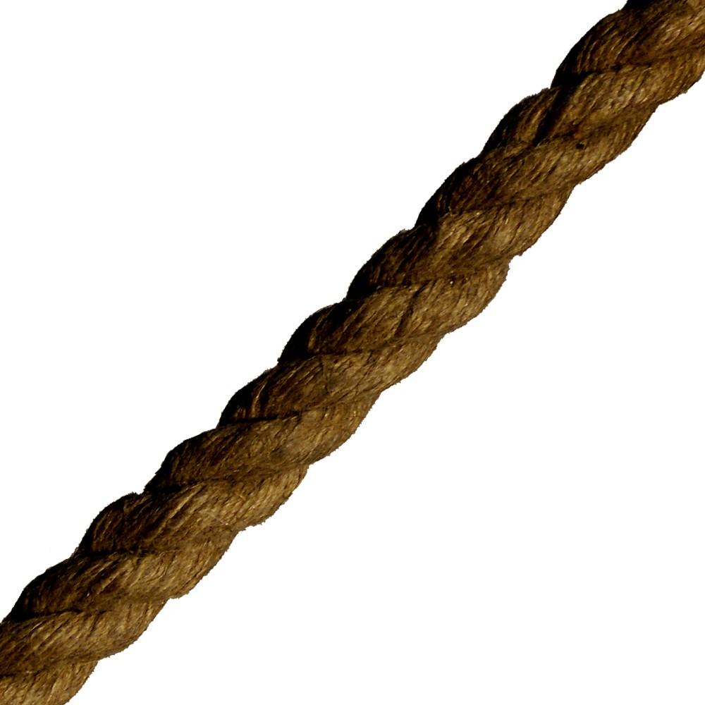 Splitter nya Tjärad Hampa | Repolina | Rep, tross, linor och snören QM-15