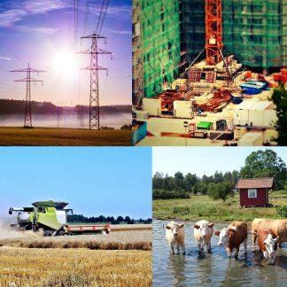 Industri och jordbruk