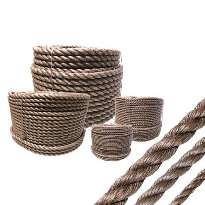 Danline brun på coil i olika dimensioner.